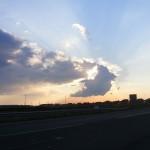 Apus de soare Satu Mare