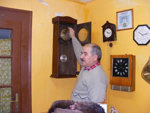 Alexandru Molnar, omul care cunoaşte tainele timpului