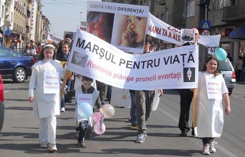 mars viata1 Marş pentru viaţă