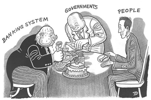 banker-government-people