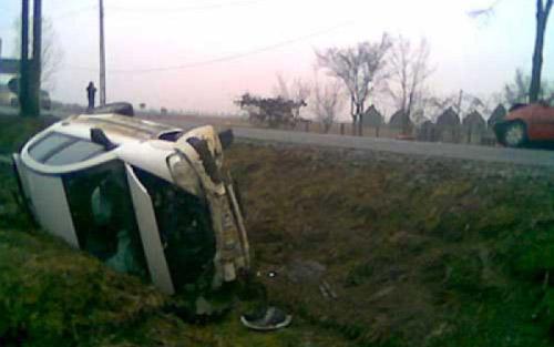 Accident-masina