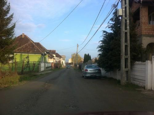 Strada Cornetului dupa reparatii