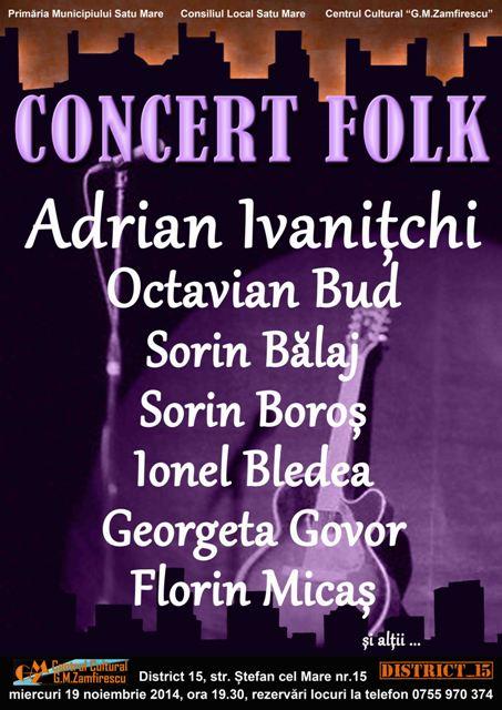 Concert folk 19 nov. 2014