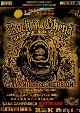 Concert rock 21 nov.