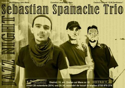 Sebastian Spanache Trio - Sepie