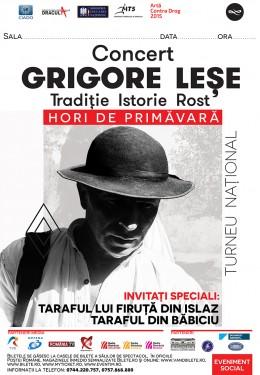 Afis GRIGORE LESE 2015