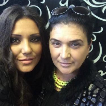 Bianca Rus impreuna cu mama ei