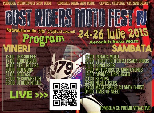 Program Dust Riders
