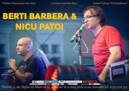 Berti Barbera si Nicu Patoi