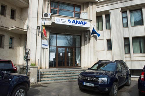 Imagine cu sediul Agentiei Nationale de Admministrare Fiscala, in Bucuresti, joi, 5 martie 2015. VICTOR CIUPULIGA / MEDIAFAX FOTO