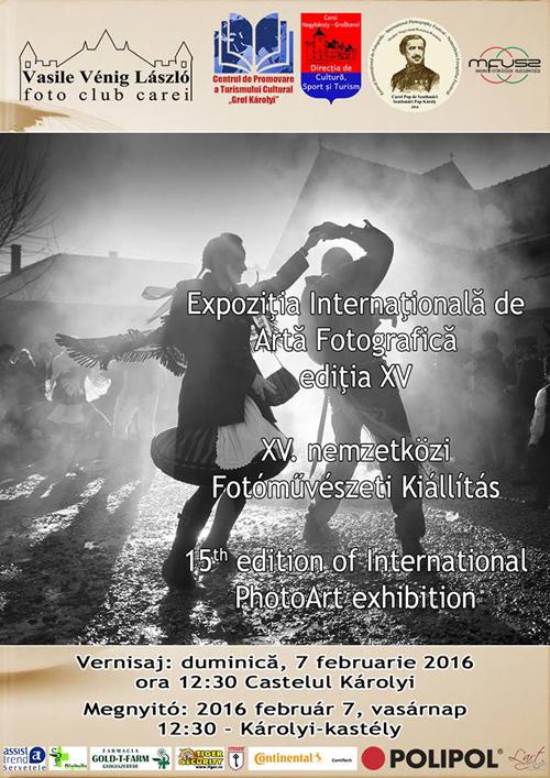 Afis Salon Internat Arta Fotografica Mfvs 2016  februarie