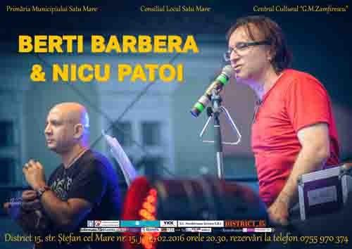 Berti Barbera Nicu Patoi 4 februarie