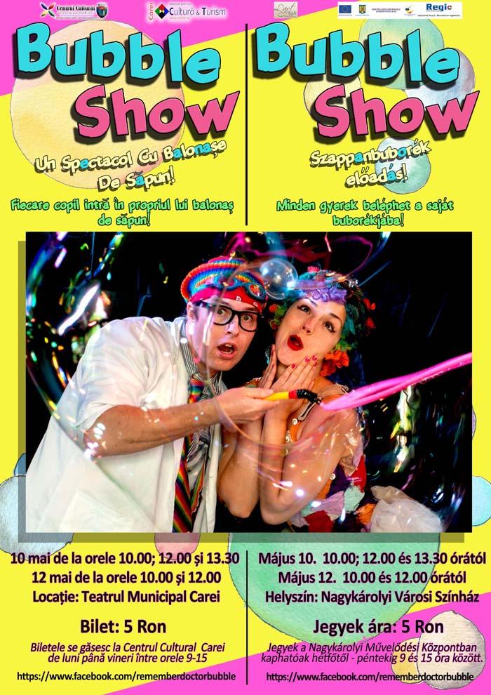 Carei Bubble Show press