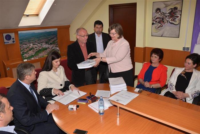 Depunere candidatura Aurelia Fedorca