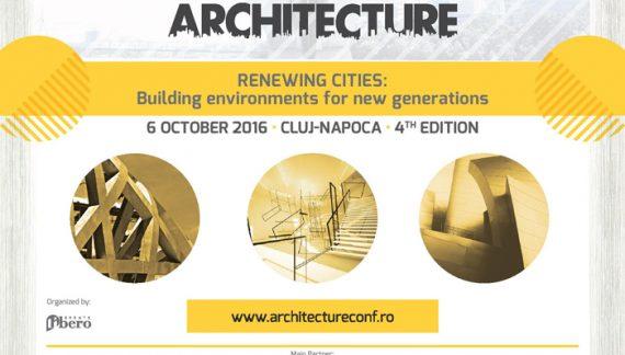 Proiectele arhitecților din întreaga țară, premiate la Cluj-Napoca în această toamnă