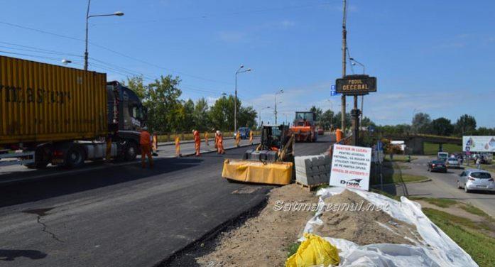 Ce spune viceprimarul Albu despre lucrările la Podul Decebal