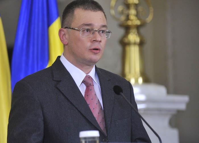 Noul premier desemnat, Mihai Razvan Ungureanu face declaratii de presa, la Palatul Cotroceni din Bucuresti, luni, 6 februarie 2012. INTACT IMAGES/Jurnalul National/Karina Knapek