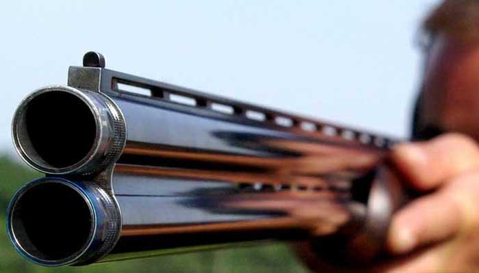 "Un vanator participa la Concursul National de Tir Vanatoresc, desfasurat in Poligonul ""Diana"" din Timisoara, sambata, 16 august 2008. VALENTINA SAROSI / MEDIAFAX FOTO"