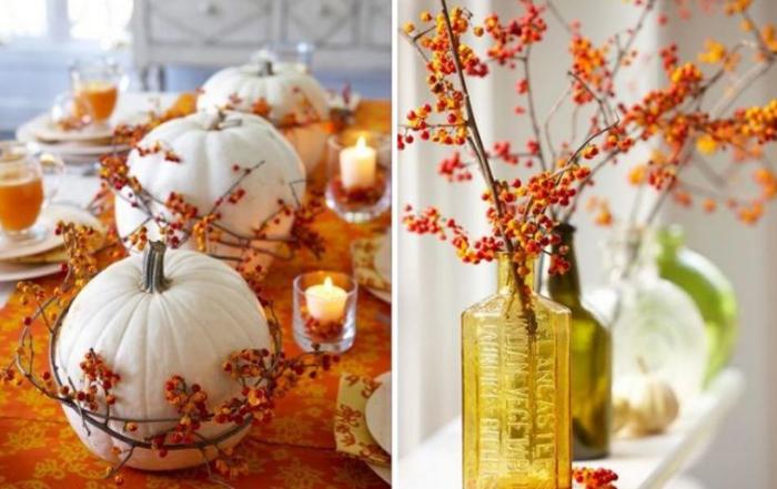 Decorațiuni de toamnă handmade (Foto)