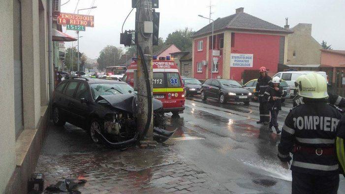 Cum s-a întâmplat accidentul de pe B-dul Octavian Goga. Ce spun polițiștii