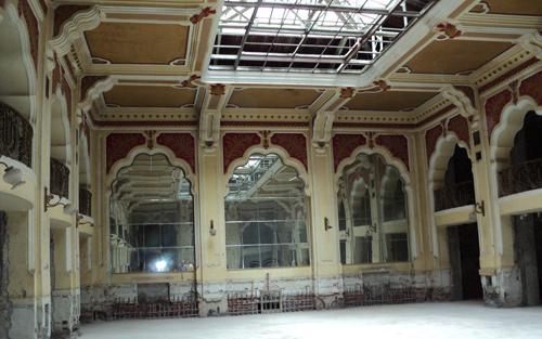 Hotel Dacia – inside view
