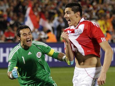 Paraguay în sferturile de finală ale CM