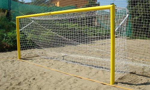 Porţile de fotbal din judeţ fac din nou victime