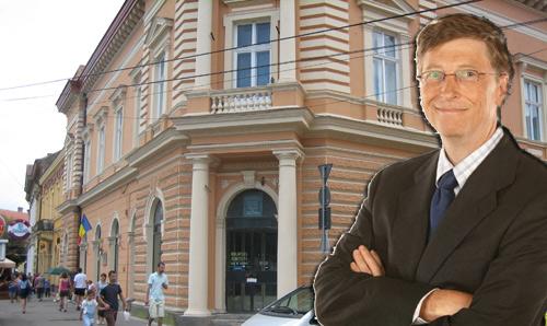 Bill Gates investeşte în judeţul Satu Mare