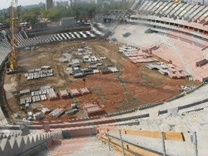 Inspecţie UEFA la stadionul naţional