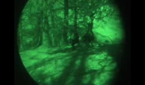 Contrabandişti retinuţi cu focuri de armă (video)