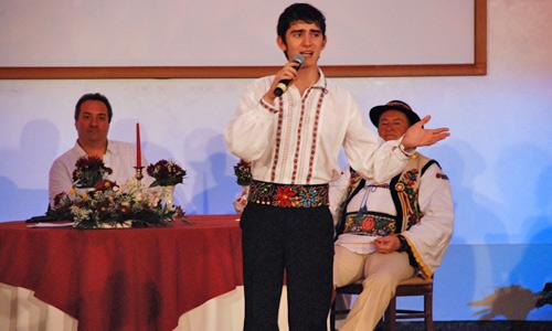 """Rareş Cîmpan, sătmăreanul din """"noul val"""" al muzicii etno-dance"""