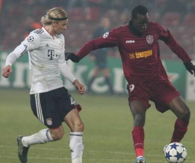 CFR umilită de Bayern în Liga Campionilor