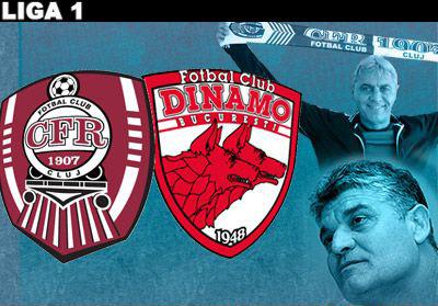 CFR Cluj a învins pe Dinamo în derby-ul etapei XIV