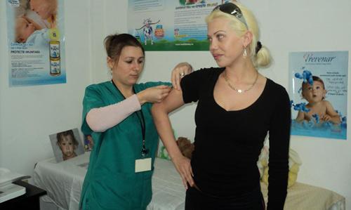 A început vaccinarea antigripală