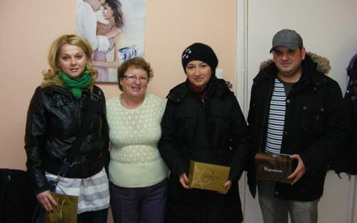 Câştigătorii concursului nostru de SMS-uri au fost azi premiaţi