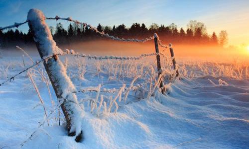 Marţi noaptea se prognozează un ger de – 17 grade Celsius !