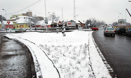 Recomandări de iarnă pentru şoferii sătmăreni de la Poliţia Satu Mare