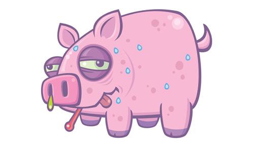 Încă un porc trichinelozat pe listă