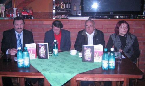 Dublă lansare de carte la restaurantul Kardinale