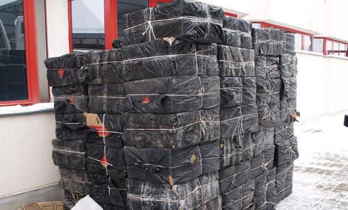 Anul acesta frontieriştii sătmăreni au confiscat ţigări la greu