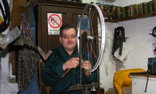 Nagy Otto – ultimul mohican al bicicletelor din Satu Mare