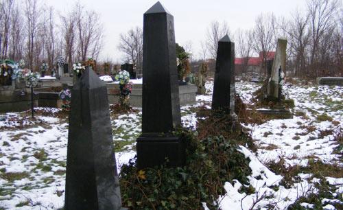 Epitafuri în cimitirele din Medieşu Aurit