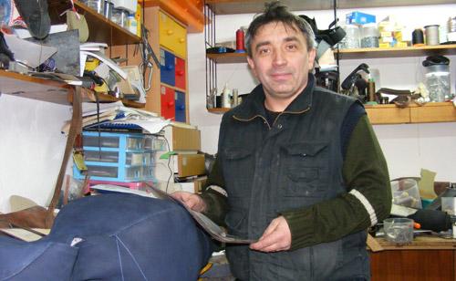 Levai Jozsef, curelarul ce îmbină arta cu meseria