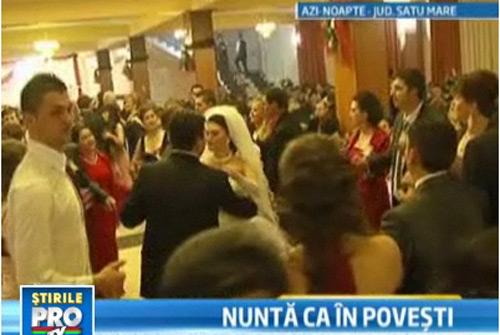 Încă o nuntă de zeci de mii de euro, cu 2000 de participanţi, în Ţara Oaşului