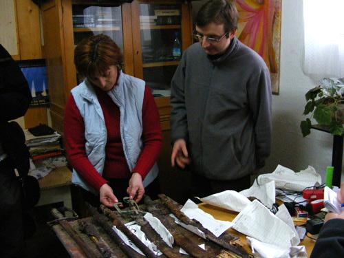 Armele de la Carei, în mâinile restauratorilor