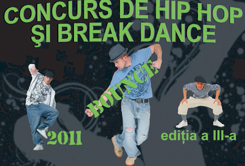 Concurs de hip hop şi break dance la Satu Mare