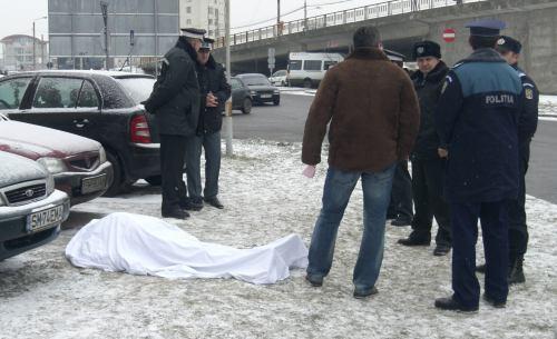 """A murit în faţa Băncii """"Ion Ţiriac"""""""