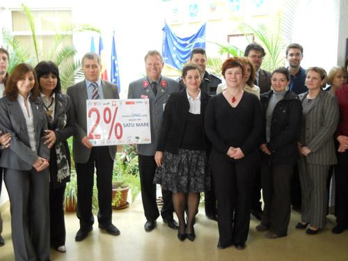 2% în sprijinul comunităţii locale