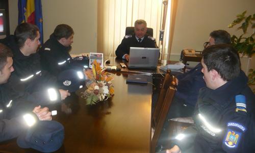 Patru elevi îşi fac stagiul la IJJ Satu Mare