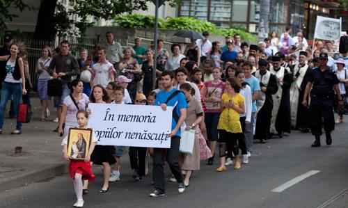 Marş pentru viaţă, la Satu Mare